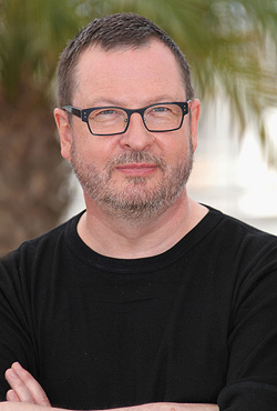 Director Lars Von Trier poses during a news conference for the film