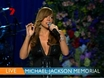 Michael Jackson's memorial - Mariah Carey