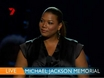 Michael Jackson's memorial - Queen Latifah