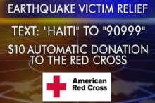 Texting Relief to Haiti