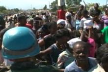 Relief Efforts in Haiti