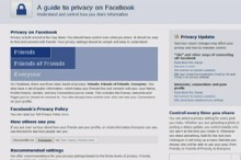 Facebook Privacy Settings Too Complicated?