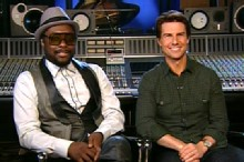 Tom Cruise Teams With Will.I.Am