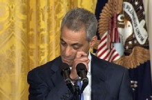 Rahm Emanuel Departs on Emotional Note