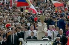 Pope John Paul II Beatified