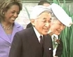 Japan's imperial couple plant tree at Rideau Hall