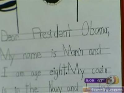 Dear President Obama ...