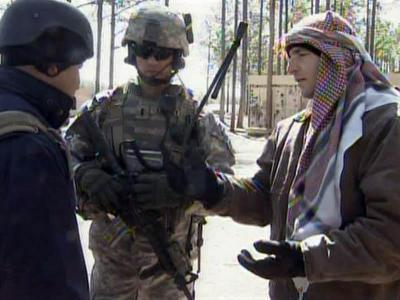 Soldiers training to deal with Iraqis, Afghans