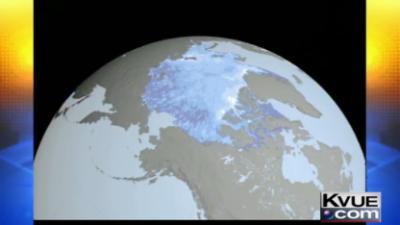 Polar ice cap health