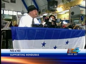 Hondurans In So. Fla. React To Military Coup