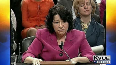 Sotomayor confirmation