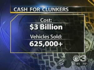 'Cash For Clunkers' Comes To An End