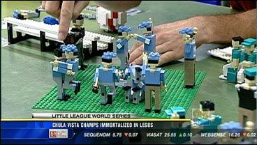 Chula Vista champs immortalized in Legos