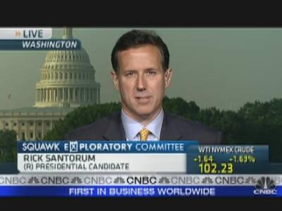 Rick Santorum's Job Plan