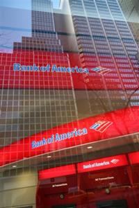 AP - FILE - In this Jan. 25, 2009 file photo, a Bank of America branch office is shown in ...