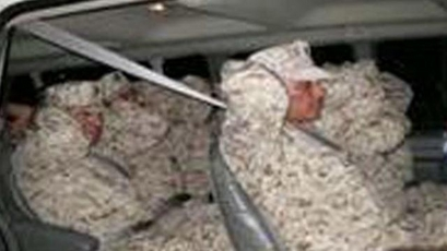 Illegal Immigrants Disguised as U.S. Military