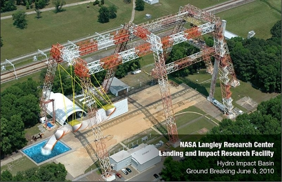 NASA Langley home to testing facility for safe water landings