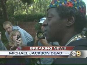 Rapper Flava Flav Mourns Michael Jackson