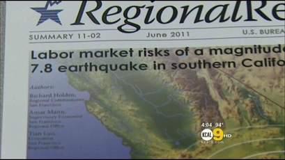 Report: Big Earthquake Could Really Shake LA's Economy