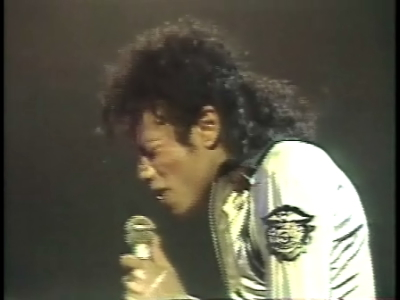 Michael Jackson performs at Freedom Hall in 88