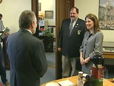 Bachmann, Santorum, Cain Visit NH