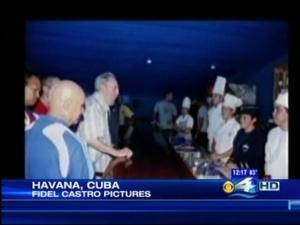 Fidel Castro In Public Again, At Aquarium