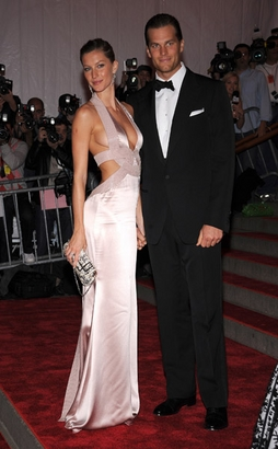 Actress/model Gisele Bundchen and athlete Tom ...