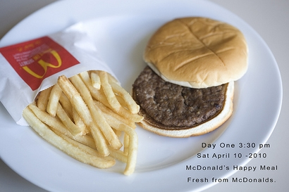 McDonald's Happy Meal resists decomposition for six months | The Upshot Yahoo! News - Yahoo! News