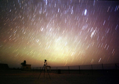 Stars outnumber Leonid meteors lighting up the ...