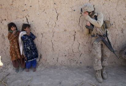 Corporal Catherine Broussard, 22, a US Marine ...