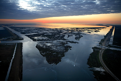 Mississippi River Delta, United States