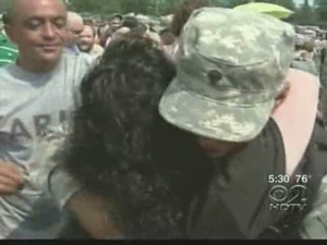 NJ National Guard Troops Get Warm Homecoming