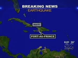 Powerful Earthquake Rocks Haiti