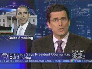 Obama Quits Smoking