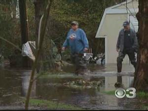 Floodwaters Remain After Days Of Rain
