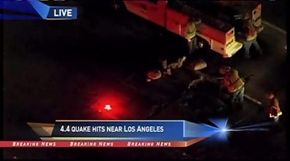 4.4 quake hits near Los Angeles