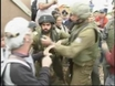 Palestinians clash with West Bank settlers
