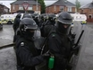 Rioters and police clash in Belfast
