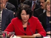 Sotomayor grilled on statements, rulings
