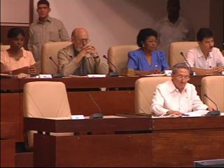 Cuba's National Assembly opens in Havana.