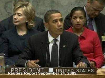 REPLAY-Obama's U.N. nuclear efforts
