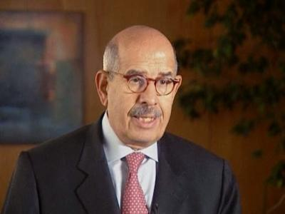 Nobel laureate ElBaradei backs Obama