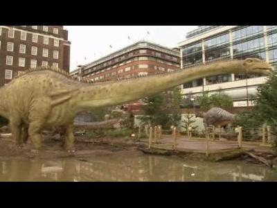 """Dinosaurs Unleashed"" in London"