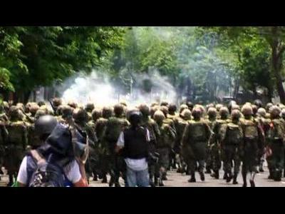 Thai protests again turn violent