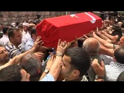 Anger as Turkey buries flotilla dead