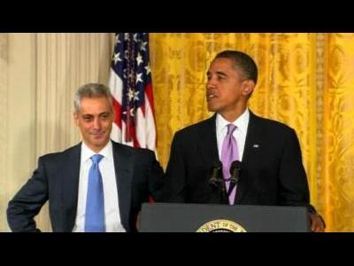 Obama aide Emanuel steps down