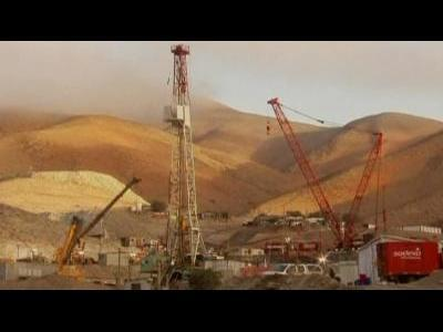 Chile miners almost free