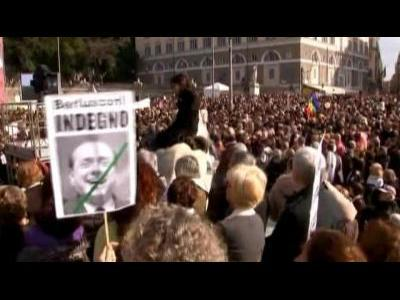 Italian women rally against Berlusconi