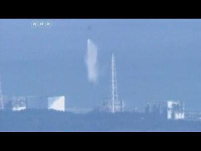 Japan drops water on nuclear plant
