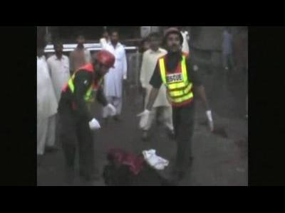 Suicide blast in Pakistan kills dozens